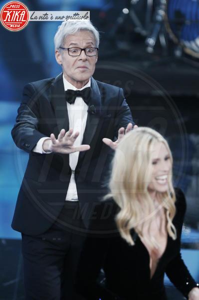 Michelle Hunziker, Claudio Baglioni - Sanremo - 06-02-2018 - Sanremo, la dichiarazione d'amore della Hunziker a Trussardi