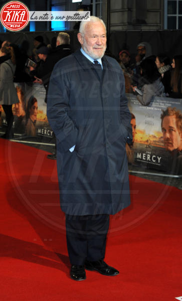 Sir Robin Knox-Johnston - Londra - 06-02-2018 - Il Mistero di Donald C, Colin Firth con la sua Livia Giuggioli