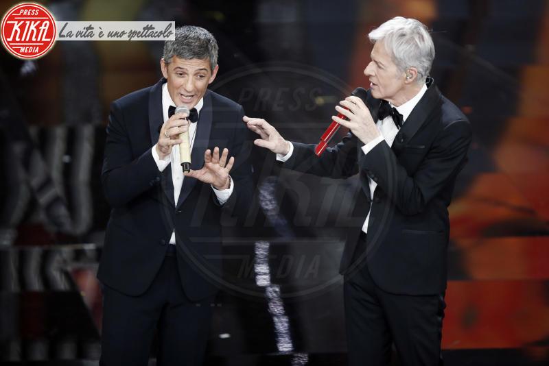 Rosario Fiorello, Claudio Baglioni - Sanremo - 06-02-2018 - Sanremo, la dichiarazione d'amore della Hunziker a Trussardi