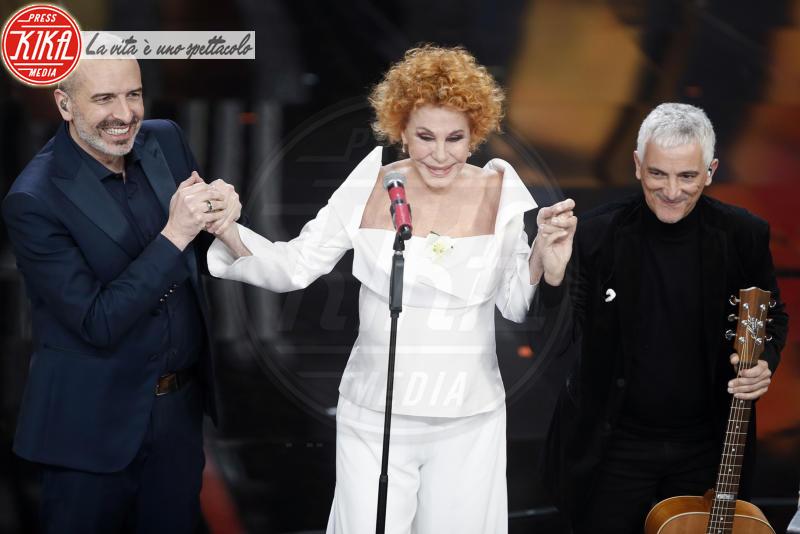Bungaro, Pacifico, Ornella Vanoni - Sanremo - 06-02-2018 - Sanremo, la dichiarazione d'amore della Hunziker a Trussardi