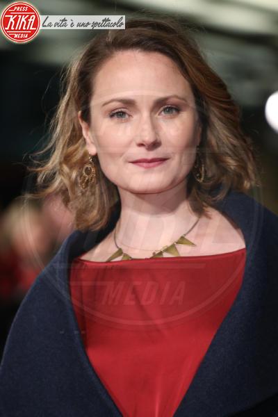 Anna Madeley - Londra - 06-02-2018 - Il Mistero di Donald C, Colin Firth con la sua Livia Giuggioli