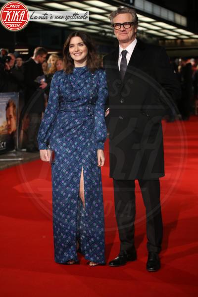 Colin Firth, Rachel Weisz - Londra - 06-02-2018 - Il Mistero di Donald C, Colin Firth con la sua Livia Giuggioli