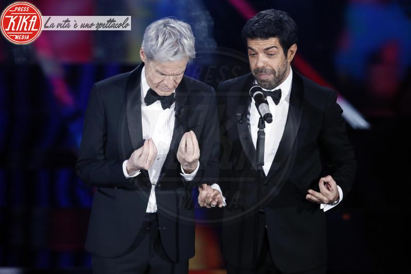 Pierfrancesco Favino, Claudio Baglioni - Sanremo - 06-02-2018 - Sanremo, la dichiarazione d'amore della Hunziker a Trussardi