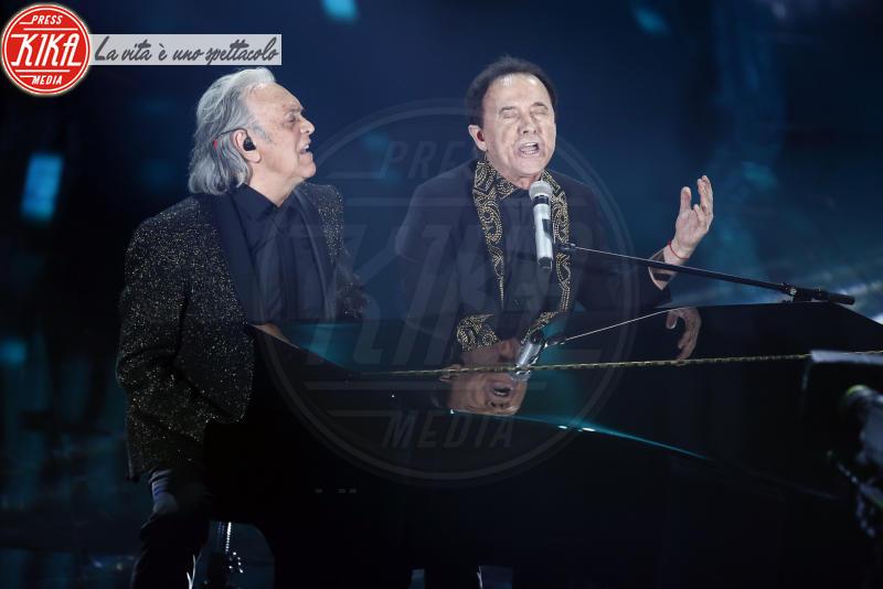Roby Facchinetti, Riccardo Fogli - Sanremo - 06-02-2018 - Sanremo, la dichiarazione d'amore della Hunziker a Trussardi