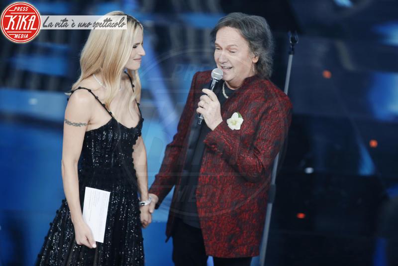 Red Canzian, Michelle Hunziker - Sanremo - 06-02-2018 - Sanremo, la dichiarazione d'amore della Hunziker a Trussardi