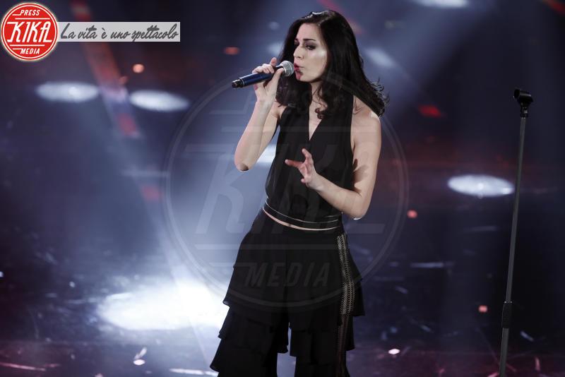 Giulia Casieri - Sanremo - 07-02-2018 - Sanremo 2018, Michelle Hunziker splende in Alberta Ferretti