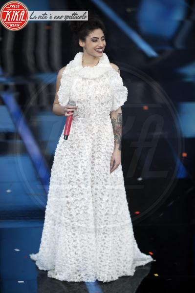 Alice Caioli - Sanremo - 07-02-2018 - Sanremo 2018, Michelle Hunziker splende in Alberta Ferretti