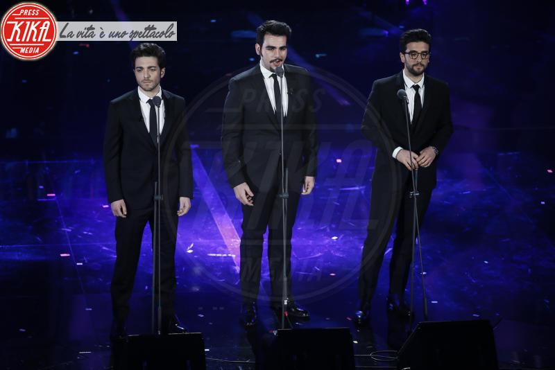 Il volo - Sanremo - 07-02-2018 - Sanremo 2018, Michelle Hunziker splende in Alberta Ferretti