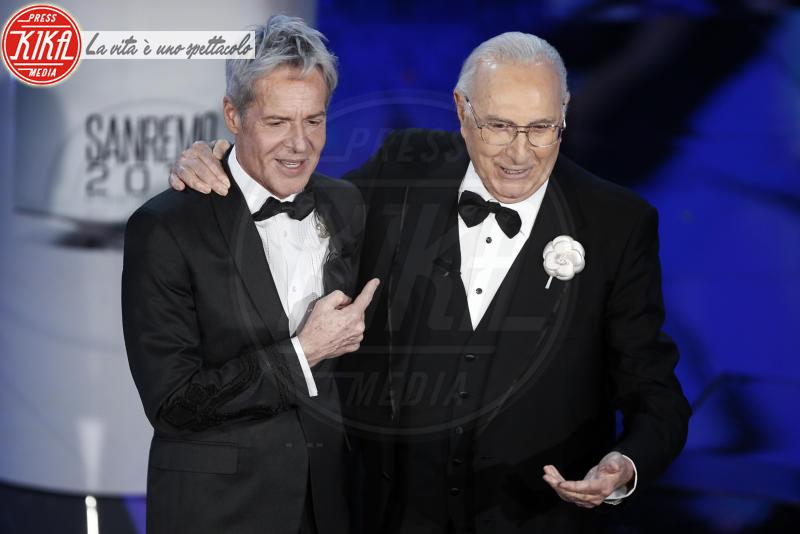 Pippo Baudo, Claudio Baglioni - Sanremo - 07-02-2018 - Sanremo 2018, Michelle Hunziker splende in Alberta Ferretti