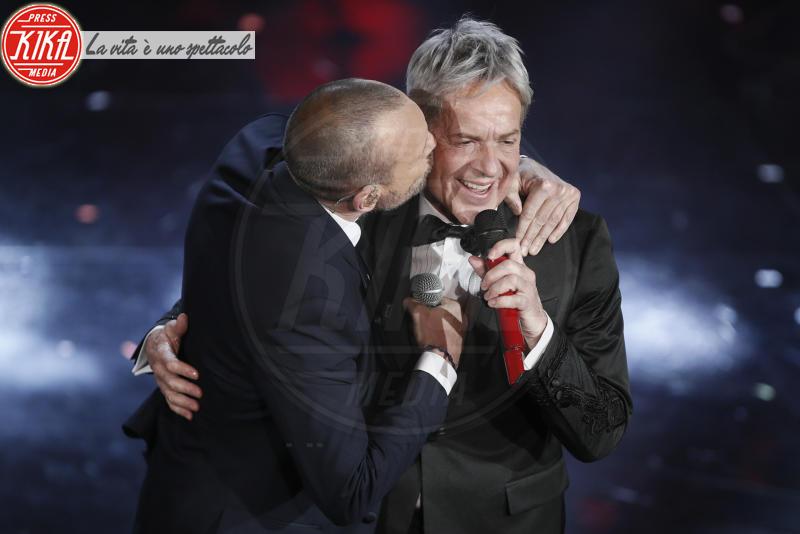 Claudio Baglioni, Biagio Antonacci - Sanremo - 07-02-2018 - Sanremo 2018, Michelle Hunziker splende in Alberta Ferretti