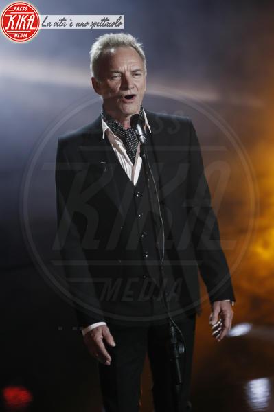 Sting - Sanremo - 07-02-2018 - Sanremo 2018, Michelle Hunziker splende in Alberta Ferretti