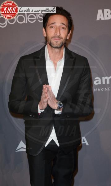 Adrian Brody - NYC - 08-02-2018 - Che audacia all'AmfAR Gala: a me gli occhi!
