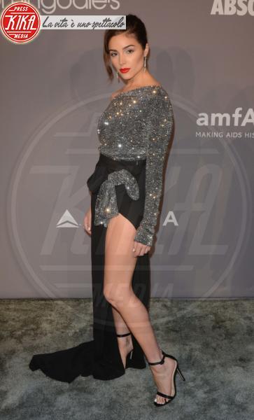 Olivia Culpo - 07-02-2018 - Che audacia all'AmfAR Gala: a me gli occhi!