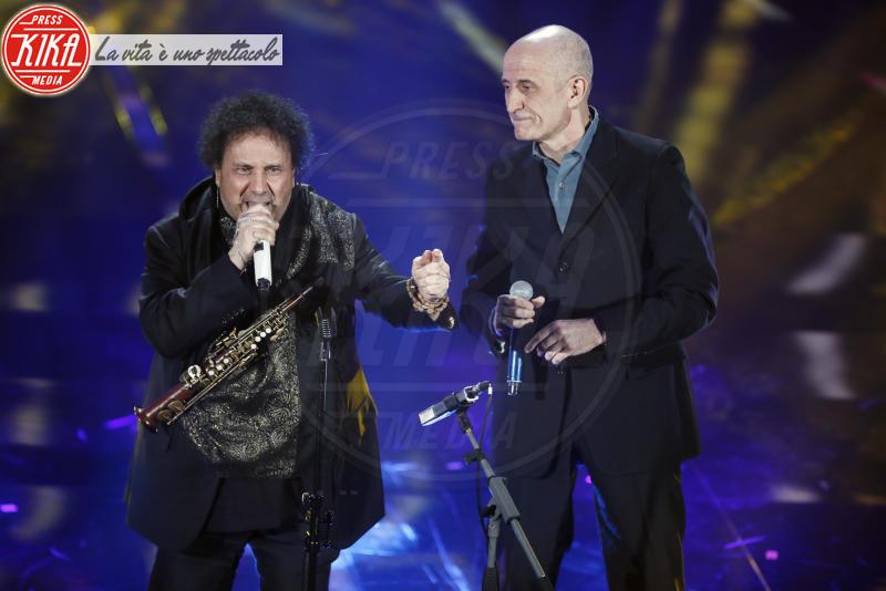 Enzo Avitabile, Peppe Servillo - Sanremo - 08-02-2018 - Sanremo 2018: l'ironia dei conduttori sul caso plagio