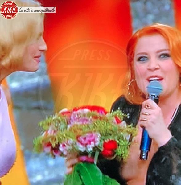 Noemi - Sanremo - 09-02-2018 -  Sanremo: Noemi dà scandalo. Fuori di seno all'Ariston