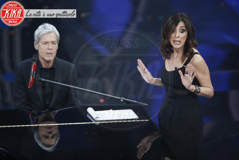 Emma D'Aquino, Claudio Baglioni - Sanremo - 08-02-2018 - Sanremo 2018: l'ironia dei conduttori sul caso plagio