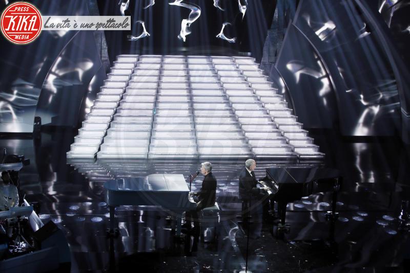 Danilo Rea, Gino Paoli, Claudio Baglioni - Sanremo - 09-02-2018 - Sanremo 2018: l'ironia dei conduttori sul caso plagio