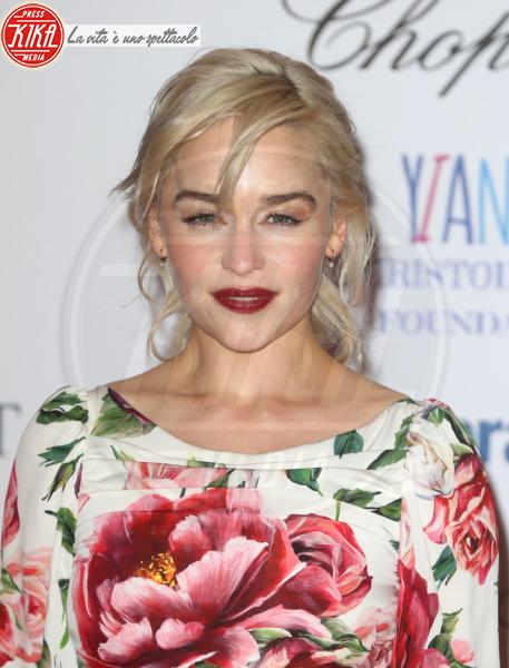 Emilia Clarke - Londra - 08-02-2018 - Roshelle, da X-Factor 10 alla prima di Black Panther senza veli