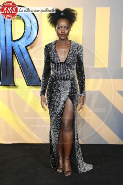 Lupita Nyong&#39 - Londra - 08-02-2018 - Roshelle, da X-Factor 10 alla prima di Black Panther senza veli