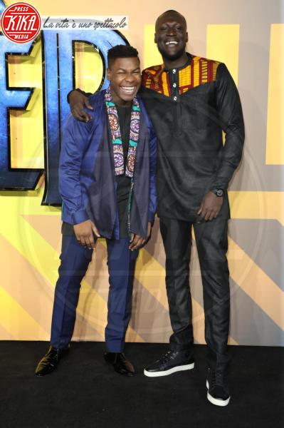 Stormzy, John Boyega - Londra - 08-02-2018 - Roshelle, da X-Factor 10 alla prima di Black Panther senza veli