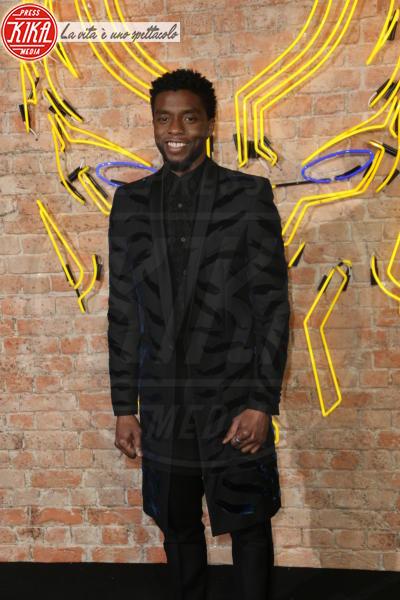 CHADWICK BOSEMAN - Londra - 08-02-2018 - Roshelle, da X-Factor 10 alla prima di Black Panther senza veli