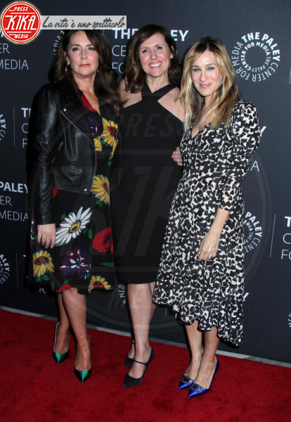 Talia Balsam, Molly Shannon, Sarah Jessica Parker - New York - 08-02-2018 - Sarah Jessica Parker, le scarpe sono quelle di Carrie Bradshaw!