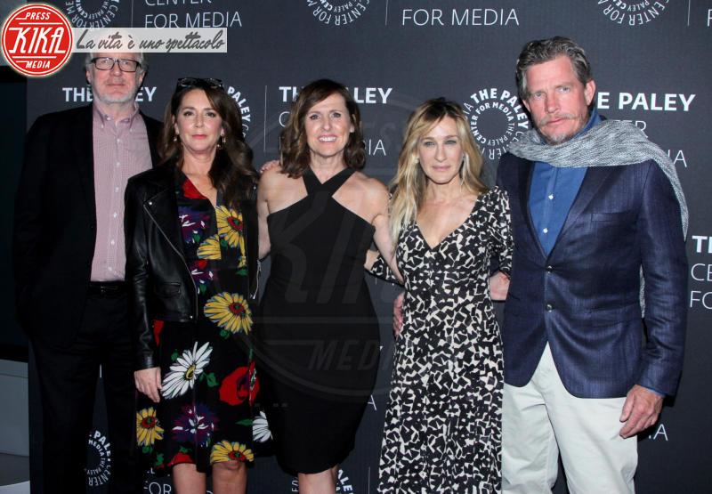 Tracy Letts, Talia Balsam, Molly Shannon - New York - 08-02-2018 - Sarah Jessica Parker, le scarpe sono quelle di Carrie Bradshaw!