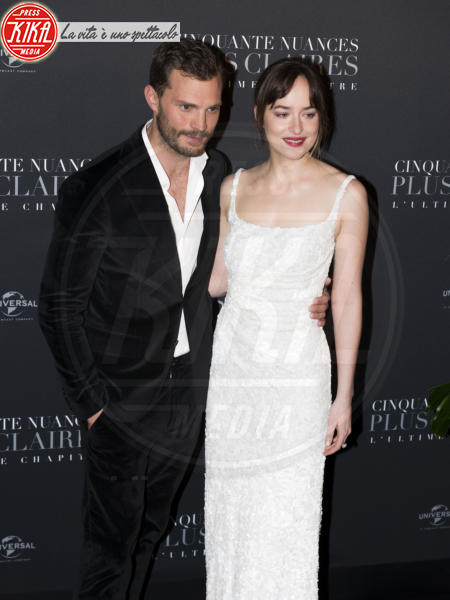 Jamie Dornan, Dakota Johnson - Parigi - 06-02-2018 - Dakota Johnson: