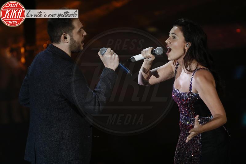 Renzo Rubino, Serena Rossi - Sanremo - 09-02-2018 - Sanremo 2018, nuove proposte: vince Ultimo