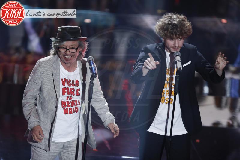 Lo Stato Sociale, Paolo Rossi - Sanremo - 09-02-2018 - Sanremo 2018, nuove proposte: vince Ultimo