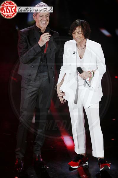 Gianna Nannini, Claudio Baglioni - Sanremo - 09-02-2018 - Sanremo 2018, nuove proposte: vince Ultimo
