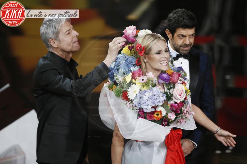 Michelle Hunziker, Claudio Baglioni - Sanremo - 09-02-2018 - Sanremo 2018, nuove proposte: vince Ultimo