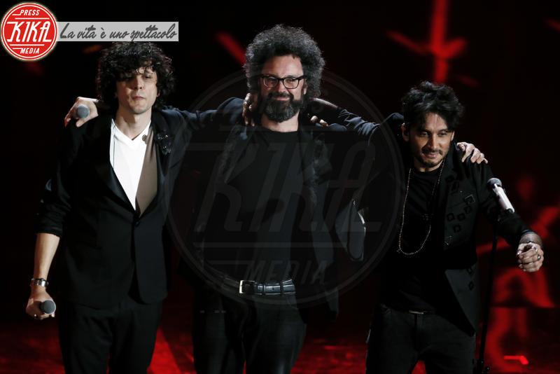 Ermal Meta, Fabrizio Moro, Simone Cristicchi - Sanremo - 09-02-2018 - Sanremo 2018, nuove proposte: vince Ultimo