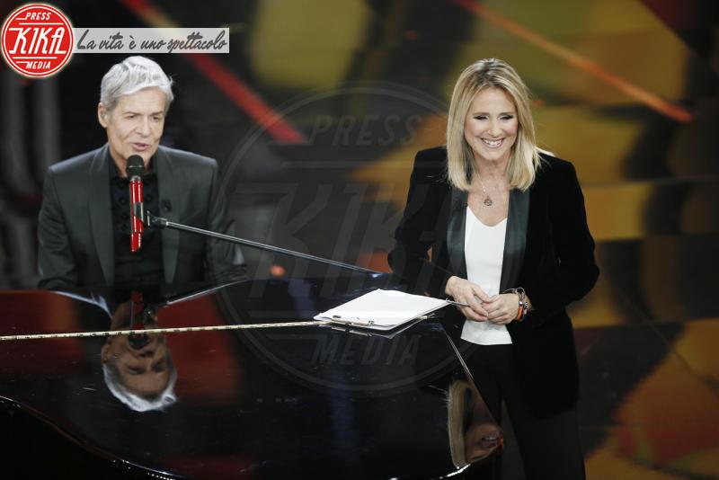 Federica Sciarelli, Claudio Baglioni - Sanremo - 10-02-2018 - Sanremo 2018, nuove proposte: vince Ultimo