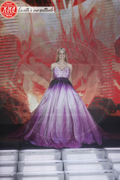 Michelle Hunziker - Sanremo - 10-02-2018 - Sanremo 2018: per Michelle Hunziker il palco è una passerella