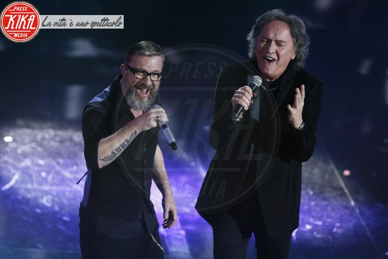 Marco Masini, Red Canzian - Sanremo - 10-02-2018 - Sanremo 2018, nuove proposte: vince Ultimo