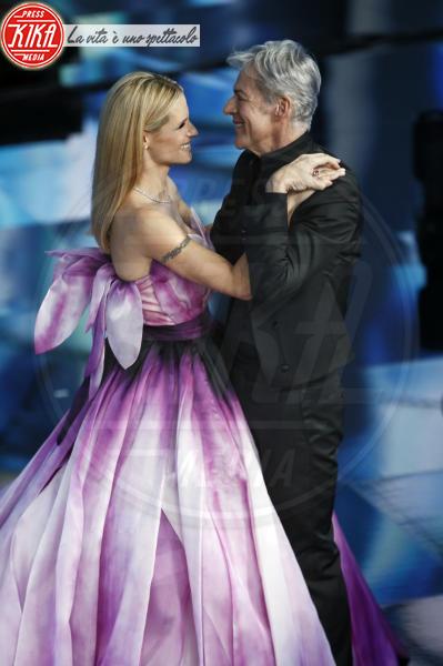 Michelle Hunziker, Claudio Baglioni - Sanremo - 10-02-2018 - Sanremo 2018, nuove proposte: vince Ultimo