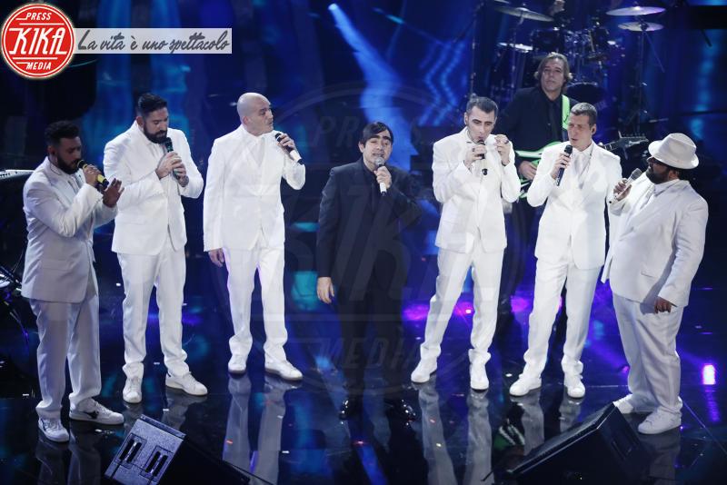 Elio e le Storie tese, Neri Per Caso - Sanremo - 10-02-2018 - Sanremo 2018, nuove proposte: vince Ultimo