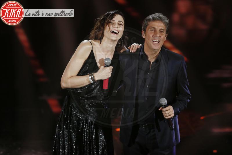 Luca Barbarossa, Anna Foglietta - Sanremo - 10-02-2018 - Sanremo 2018, nuove proposte: vince Ultimo