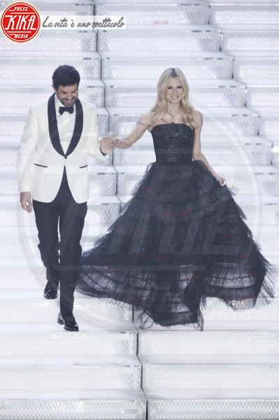 Pierfrancesco Favino, Michelle Hunziker - Sanremo - 10-02-2018 - Sanremo, Pausini show e Favino commuove con monologo su migranti