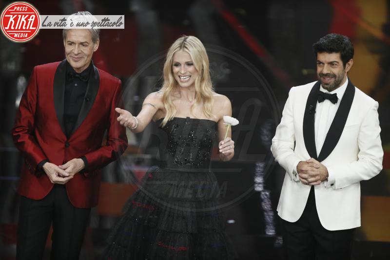 Pierfrancesco Favino, Michelle Hunziker, Claudio Baglioni - Sanremo - 10-02-2018 - Sanremo, Pausini show e Favino commuove con monologo su migranti