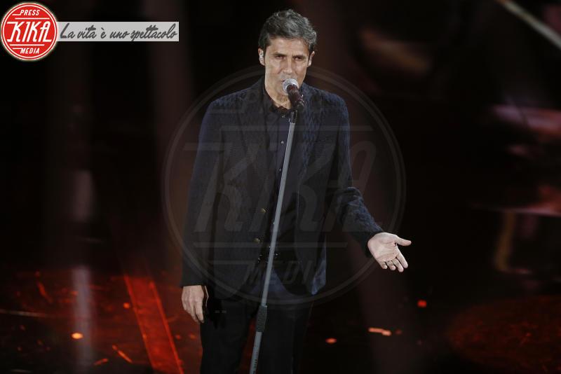 Luca Barbarossa - Sanremo - 10-02-2018 - Sanremo, Pausini show e Favino commuove con monologo su migranti