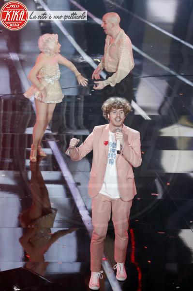 Lo Stato Sociale - Sanremo - 10-02-2018 - Ermal Meta e Fabrizio Moro vincono il Festival di Sanremo
