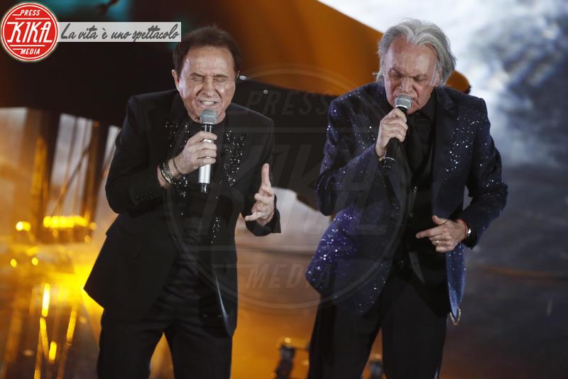 Roby Facchinetti, Riccardo Fogli - Sanremo - 10-02-2018 - Sanremo, Pausini show e Favino commuove con monologo su migranti