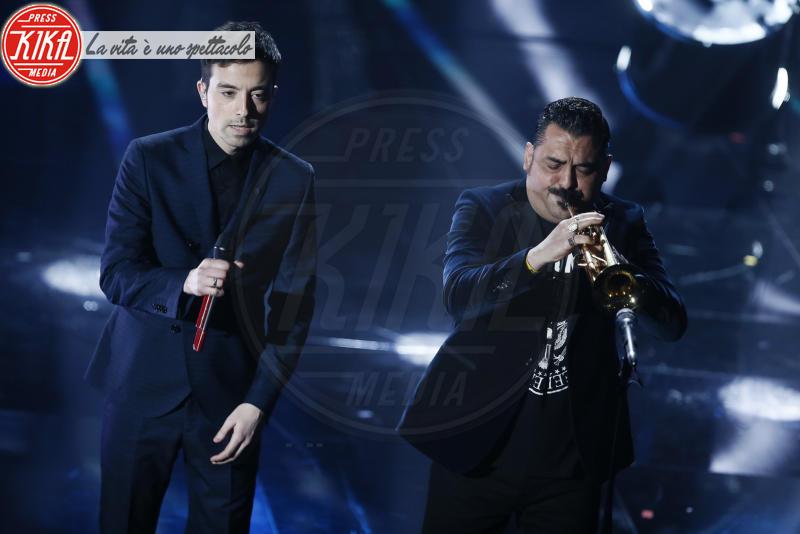 Diodato, Roy Paci - Sanremo - 10-02-2018 - Sanremo, Pausini show e Favino commuove con monologo su migranti