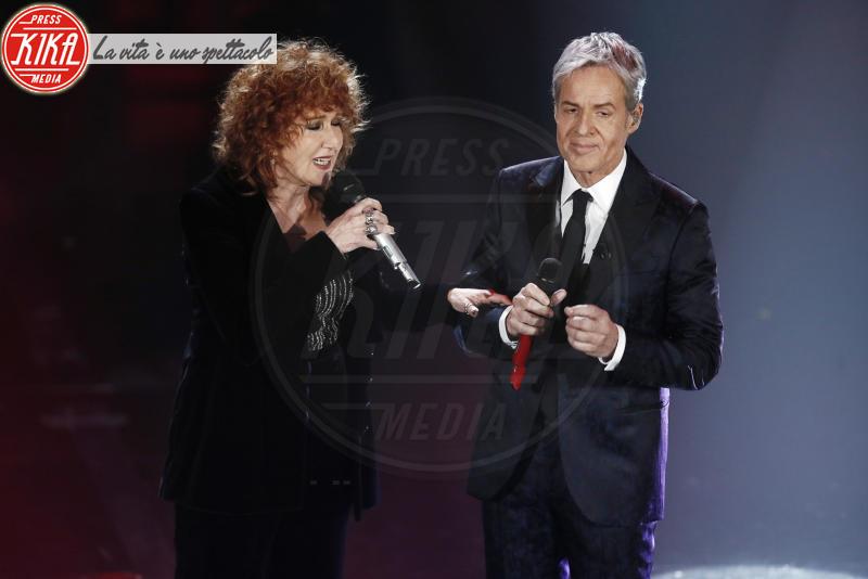 Fiorella Mannoia, Claudio Baglioni - Sanremo - 10-02-2018 - Sanremo, Pausini show e Favino commuove con monologo su migranti