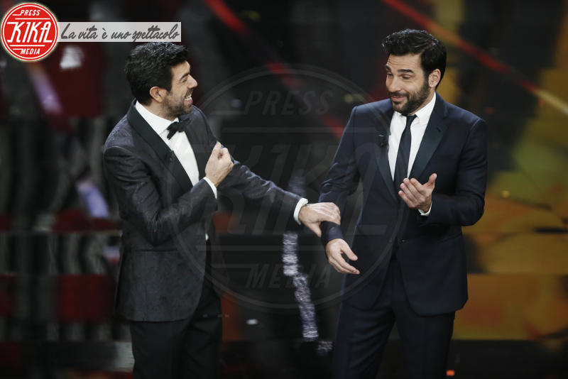 Edoardo Leo, Pierfrancesco Favino - Sanremo - 11-02-2018 - Sanremo, Pausini show e Favino commuove con monologo su migranti