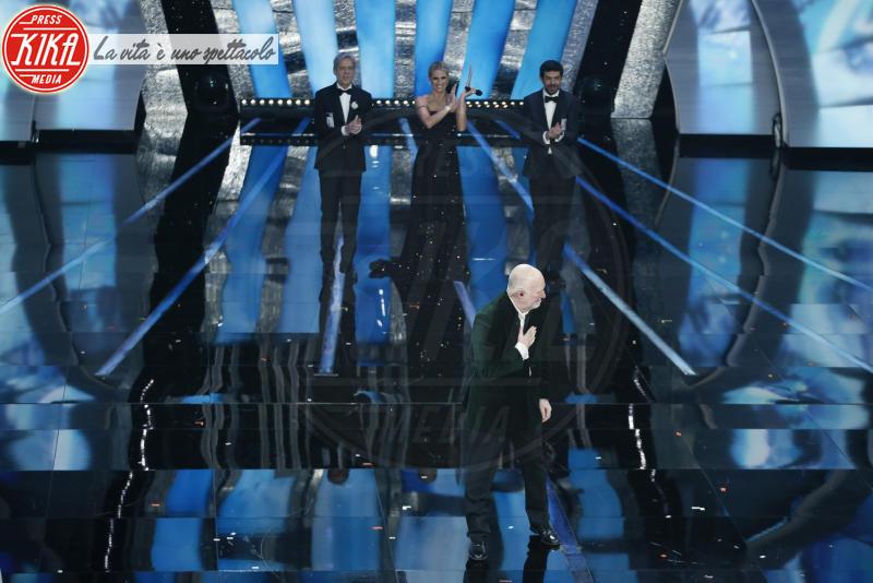 Pierfrancesco Favino, Michelle Hunziker, Claudio Baglioni - Sanremo - 11-02-2018 - Ermal Meta e Fabrizio Moro vincono il Festival di Sanremo