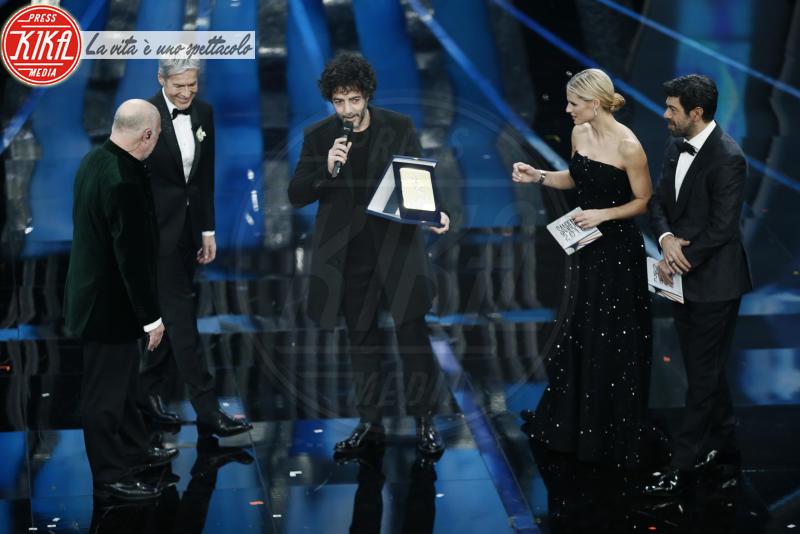 Max Gazzè, Pierfrancesco Favino, Michelle Hunziker, Claudio Baglioni - Sanremo - 11-02-2018 - Ermal Meta e Fabrizio Moro vincono il Festival di Sanremo