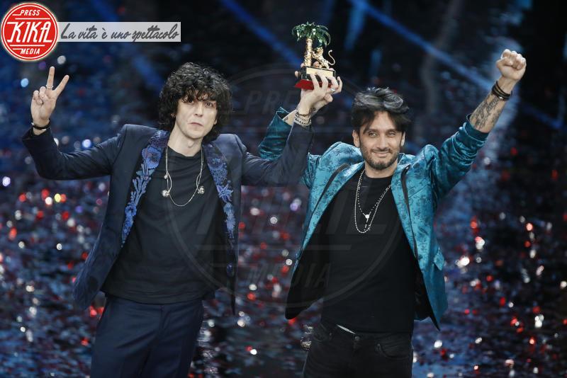 Ermal Meta, Fabrizio Moro - Sanremo - 11-02-2018 - Ermal Meta e Fabrizio Moro vincono il Festival di Sanremo